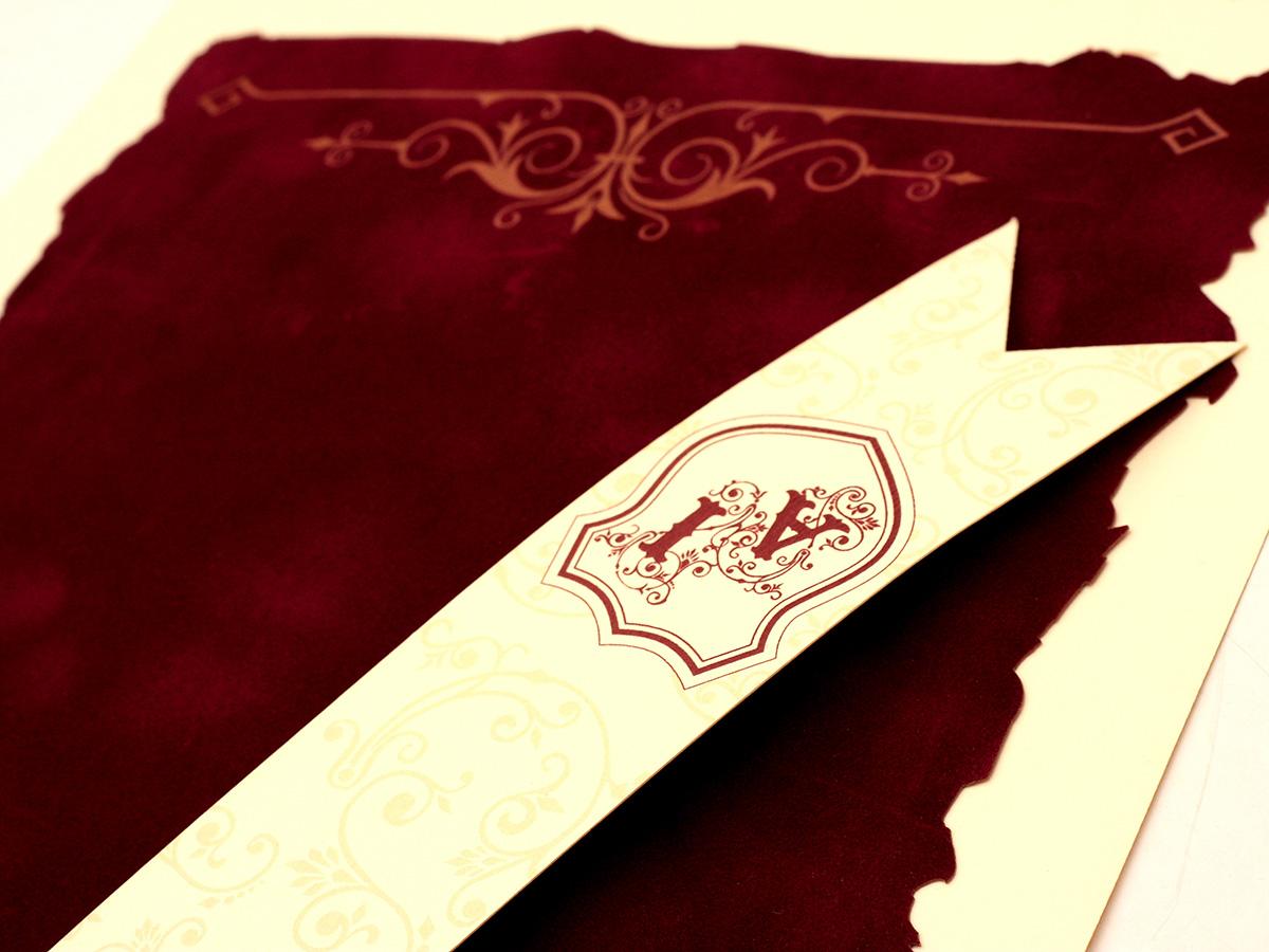 Invitatie Medievala Invitatii Nunta Pergament Invitatie