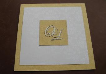 Invitatie nunti simpla