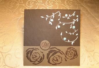 Invitatii nunti cu trandafiri