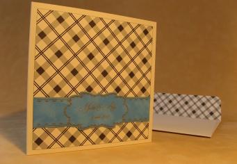 Invitatii pentru nunta cu plic special, personalizat cu acelasi model ca si invitatia