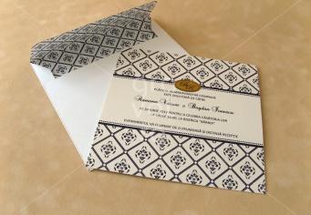 Invitatie nunta cu plic