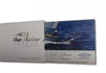 Invitatii - felicitari business Blue Marine