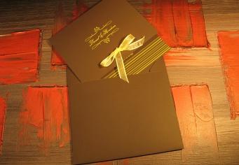 Invitatie nunta personalizata cu plic inclus