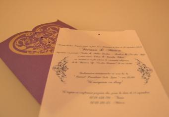 Invitatii personalizate pentru nunti