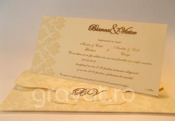 Invitatie de nunta Bianca & Victor