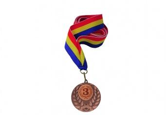 Medalie de bronz cu snur