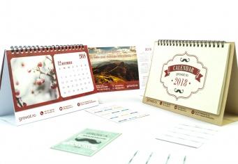 Calendare personalizate 2018