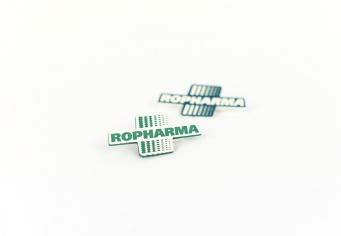 Ecusoane ABS decupate si gravate cu Sigla Clientului