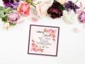 Invitatie de nunta cu trandafiri
