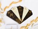 Invitatie de nunta evantai cu canaf