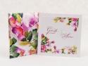 Invitatie cu flori de nunta`
