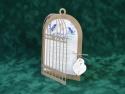 colivie porumbei cu lacat in forma de inima si cheie din carton