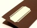 Detaliu placecard cu buzunar pentru cadou de nunta