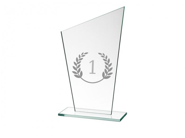 Trofeu sticla personalizat