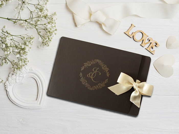 Invitatie nunta model realizat la comanda