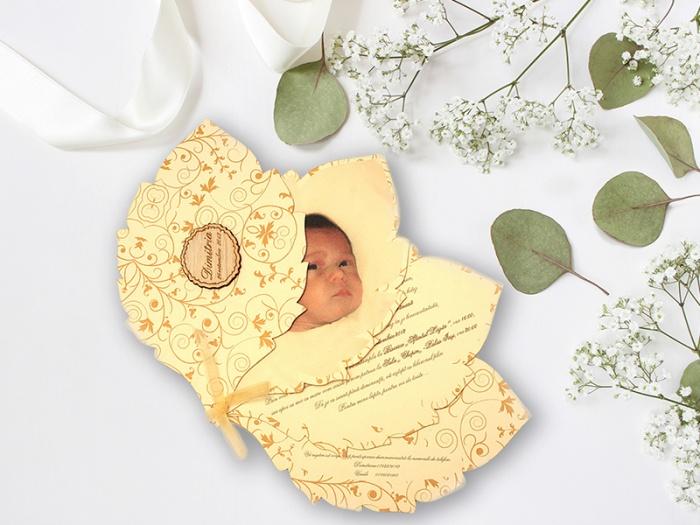 Invitatii botez cu fotografii