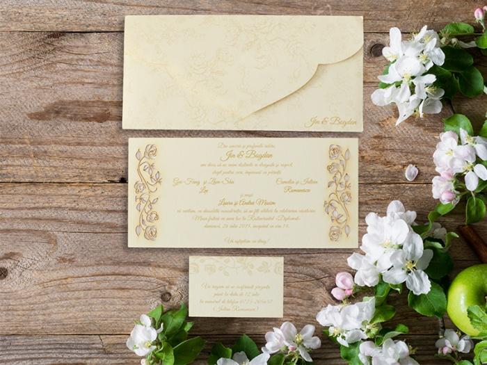 Invitatie cu plic personalizat