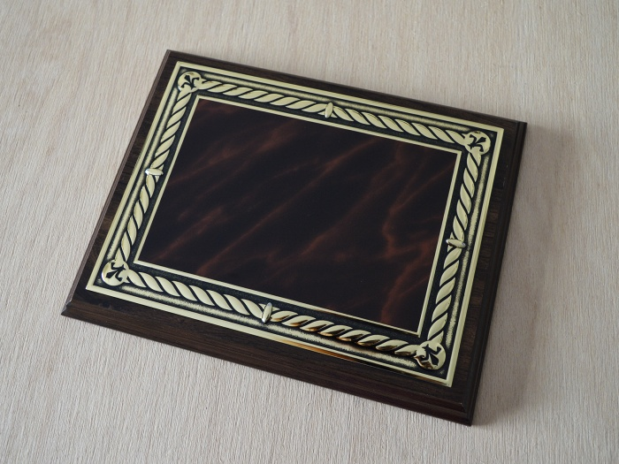 Placheta metalica vintage lux
