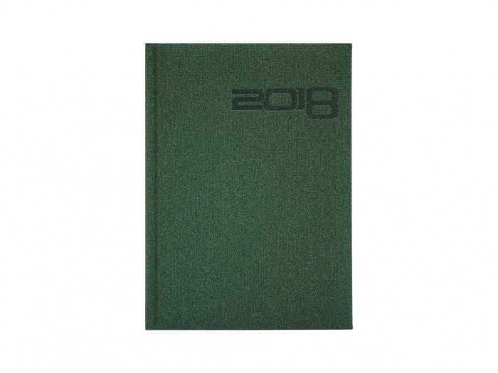 Agenda datata A5 culoare verde