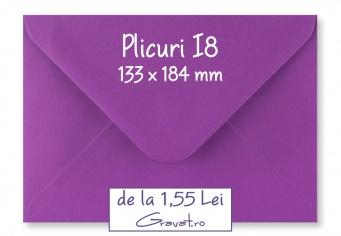 Plicuri Standard Colorate I8 pentru Invitatii si Felicitari